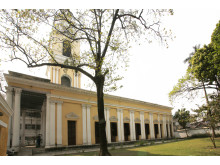 Skt. Olavs Kirke i Serampore fra 1805.