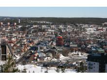 Vintervy Örnsköldsviks centrum