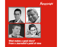 Mynewsnight: What makes a good story, from a journalist's point of view