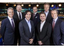 MTG Sport 2015 - fotball - Rune Bratseth, Morten Langli, Roar Stokke, Christian Ramberg, Daniel Høglund, Vidar Davidsen, Jan Åge Fjørtoft