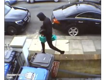 Cafer Aslan - suspect carrying petrol cans