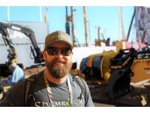 Influencer Sean Coughlan aka Shamrock Earthworks på Conexpo