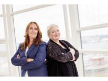 Jenny Bänsch Larsson, Styrelseordförande & Eva Palmgren, VD – Sweden Hotels
