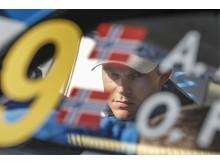 Andreas Mikkelsen tog i för hårt och tvingades bryta