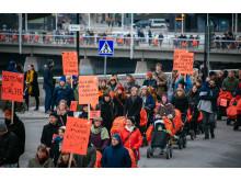 BARNVAGNSMARSCHEN 2016, Stockholm 5 mars