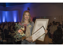 Emma Frans, vinnare av Stora Journalistpriset 2017