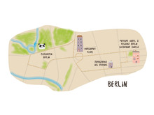 Joggingroute Berlin - Grafik AccorHotels