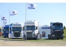 Scania er med på Vestfyn Trækker 2014
