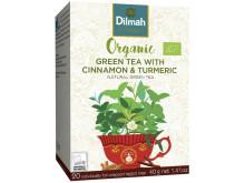 Dilmah Organic Grönt Te Kanel Gurkmeja
