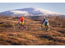 Cross country biking, Storulvån