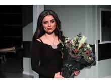 Sara Omar modtager Talentprisen