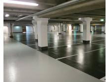 Helrenovering av P-Garaget Wachtmeister Galleria i Karlskrona.