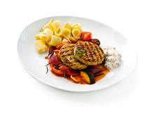 Felix Smart mat Kalkonbiff med ratatouille och salsayoughurt