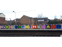 181127 Mural Cricklewood Station- Queen Of The Air