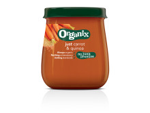 Organix just carrot & quinoa