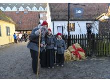 Julstök på Kulturen i Lund – tomtefamilj