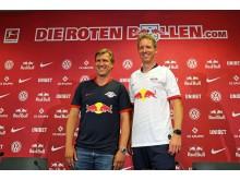RB Leipzig - Sportdirektor Markus Krösche und Trainer Julian Nagelsmann