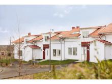 Brf Brännö Utkiken. Mysiga par-och radhus med bostadsrätt i Göteborgs södra skärdgårds