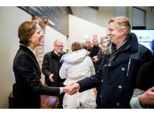 Kungsbacka kommun möter företagare.