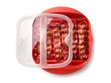 Bacon Cooker för mikrovågsugn