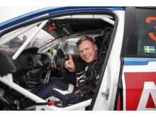 Nervös inför finalen? Glöm det! Johan Kristoffersson älskar utmaningen och har bara förstaplats i blick.