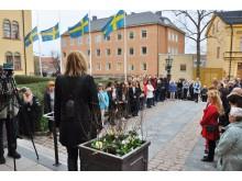 Tyst minut i Linköping