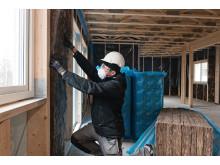 EcoBatt35 sätts upp i de nya lägenheterna i Spåningslanda