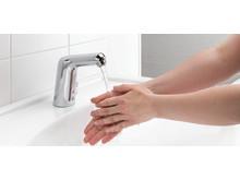 God håndhygiejne mindsker bakteriespredningen.