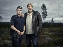 Rolf Lassgård spiller strømeren Erik og Johan Marenius Nordahl spiller nevøen Peter i C Mores nye serie Jægerne