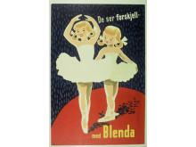 Blenda-plakat fra 1950-tallet