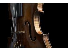 Violin, byggd i Neapel på 1760-talet av Nicolò Gagliano, som utgör 2019 års Jan Wallanderpris. Foto: Stefan Nilsson.