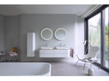 Trend No. 12: White - Happy D.2 Plus from Duravit
