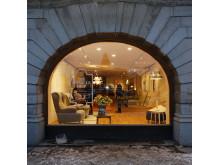 Fönsterdekor The monocle shop
