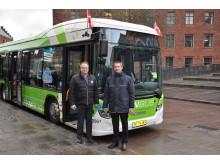 Seks nye Scania hybridbusser til Keolis