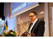 Rektorsinstallation Martin Hellström