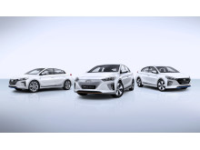 IONIQ line-up no logo