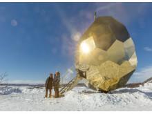 Solar Egg för Riksbyggen av Bigert & Bergström