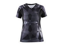 Devotion short sleeve (dam) i färgen geo black