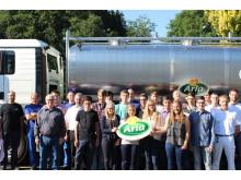 Fachkräftenachwuchs für Arla Standort Pronsfeld_2015