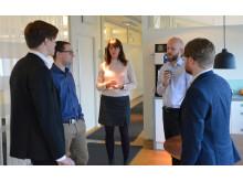 Entreprenörer bakom WindFind, Geografiska informationsbyrån i Stockholm och Featherway Robotics
