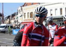 Iver Knotten under Paris-Roubaix 2016