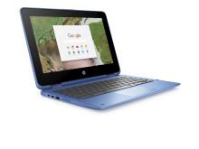 HP Chrome x360 11 blue