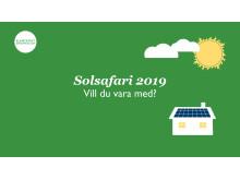 Delta på årets solsafari!