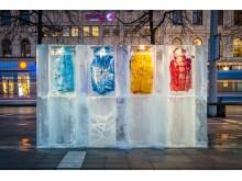 Iskallt reklamäventyr mitt i Stockholm