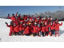Danmarks alpine junior og U16 landshold samt trænere
