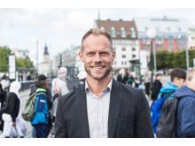 Lars Backström, vd på Västtrafik