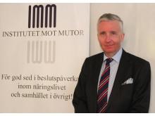 Fredrik Wersäll, ordförande Institutet mot Mutor (hovrättspresident, f d justitieråd HD samt RÅ)