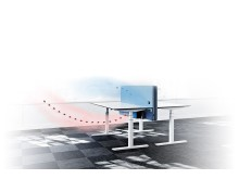 Götessons Pure Air Zone Bordsskärm för bättre hälsa, välmående och produktivitet på jobbet!