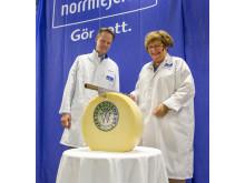 Invigning ostförädlingen Umeå mejeri