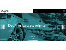 Saab Original reservdelar på ny webbsida